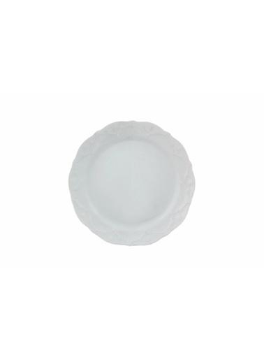 Porland Queen Beyaz Yeni Yemek Takımı Renkli
